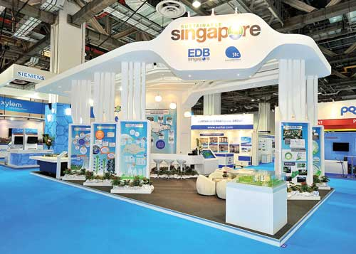 Exhibition Stand Design Singapore : Build less to save more exhibit city news